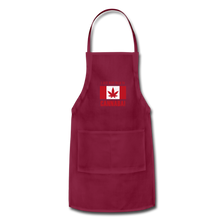 Load image into Gallery viewer, I just want to go to Canaba Adjustable Apron - burgundy