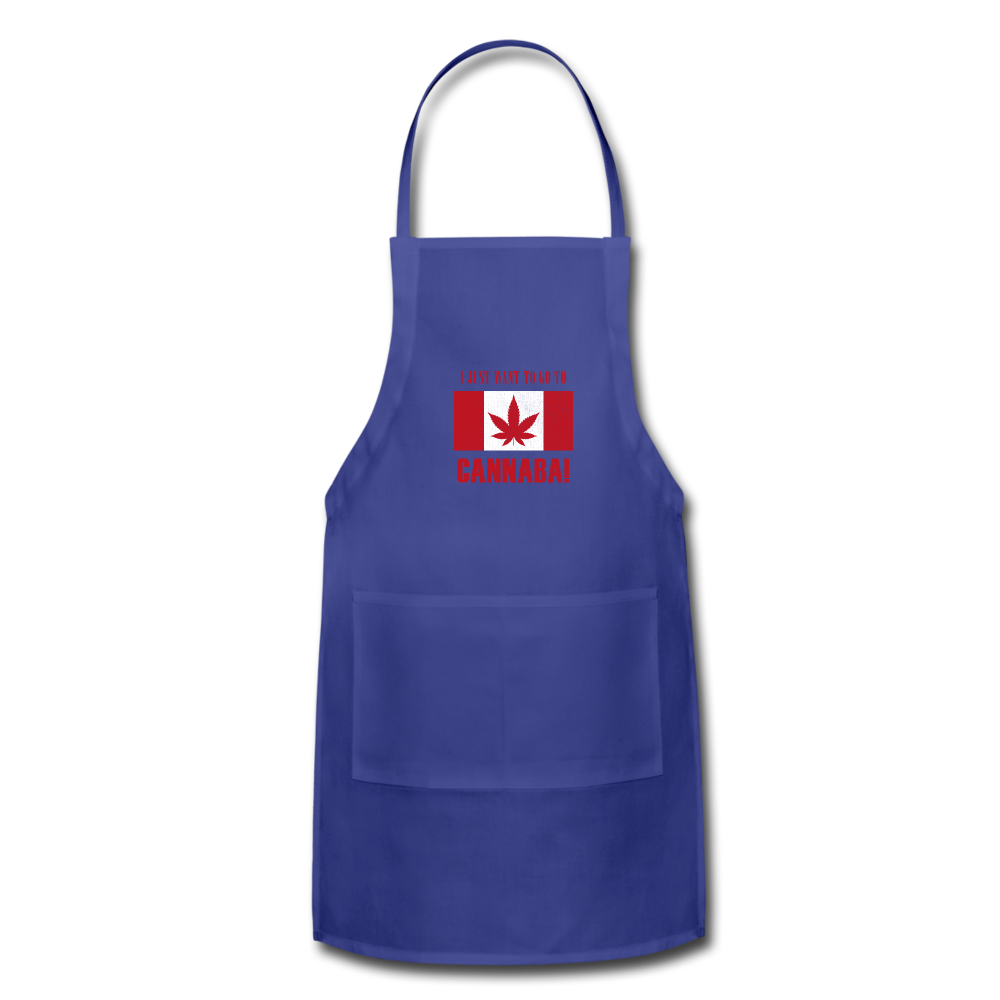 I just want to go to Canaba Adjustable Apron - royal blue