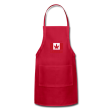 Load image into Gallery viewer, I just want to go to Canaba Adjustable Apron - red