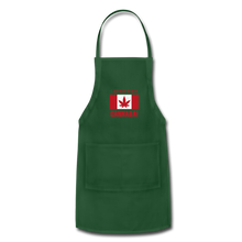 Load image into Gallery viewer, I just want to go to Canaba Adjustable Apron - forest green