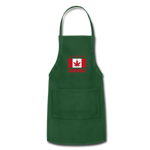 I just want to go to Canaba Adjustable Apron - forest green
