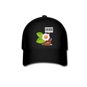Plant Pot Price Baseball Cap - black