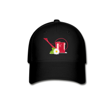 Load image into Gallery viewer, Watering Can Baseball Cap - black