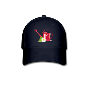 Watering Can Baseball Cap - navy