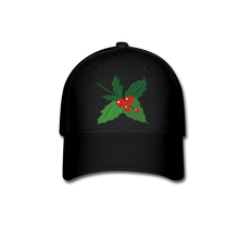 Load image into Gallery viewer, Holly Baseball Cap - black