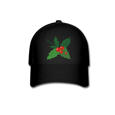 Holly Baseball Cap - black