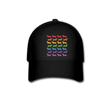 Load image into Gallery viewer, Dogs Baseball Cap - black