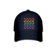 Load image into Gallery viewer, Dogs Baseball Cap - navy