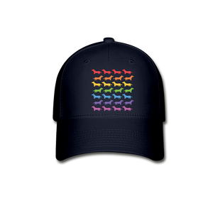 Dogs Baseball Cap - navy