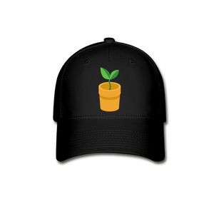 Sprout Baseball Cap - black