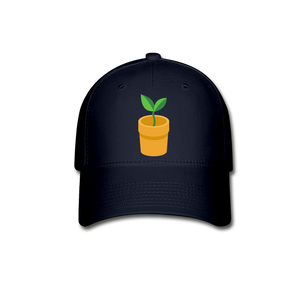 Sprout Baseball Cap - navy