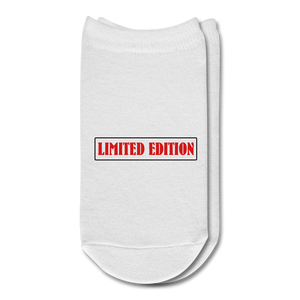 Limited Edition Ankle Socks - white
