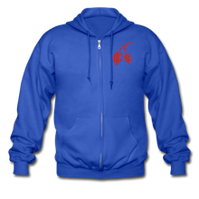 Load image into Gallery viewer, Rosehips Heavy Blend Adult Zip Hoodie - royal blue