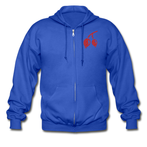 Rosehips Heavy Blend Adult Zip Hoodie - royal blue
