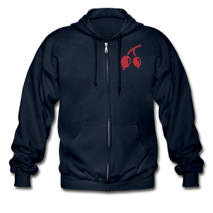 Rosehips Heavy Blend Adult Zip Hoodie - navy