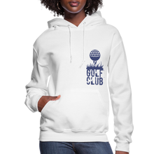 Load image into Gallery viewer, Golf Club Women's Hoodie - white