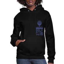 Load image into Gallery viewer, Golf Club Women's Hoodie - black