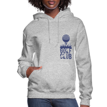 Load image into Gallery viewer, Golf Club Women's Hoodie - heather gray