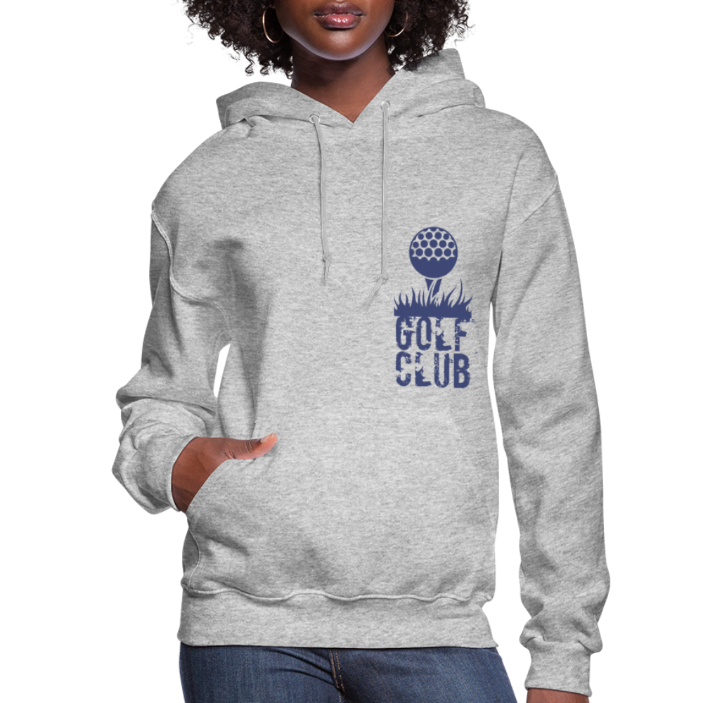 Golf Club Women's Hoodie - heather gray