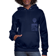 Load image into Gallery viewer, Golf Club Women's Hoodie - navy