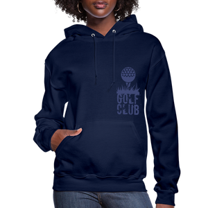 Golf Club Women's Hoodie - navy