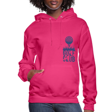 Load image into Gallery viewer, Golf Club Women's Hoodie - fuchsia