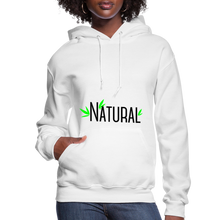 Load image into Gallery viewer, Natural Women's Hoodie - white