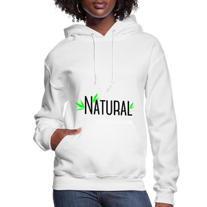 Natural Women's Hoodie - white