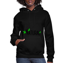 Load image into Gallery viewer, Natural Women's Hoodie - black