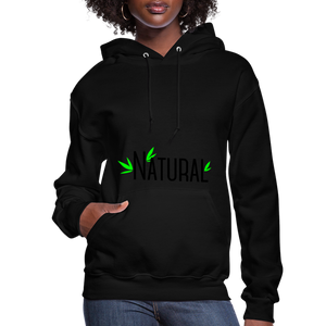 Natural Women's Hoodie - black