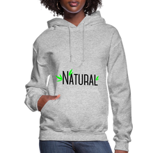 Load image into Gallery viewer, Natural Women's Hoodie - heather gray