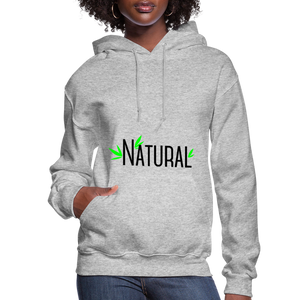Natural Women's Hoodie - heather gray