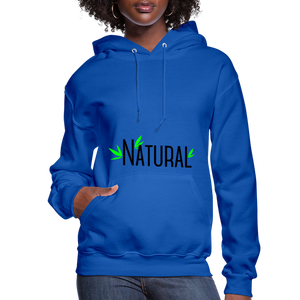 Natural Women's Hoodie - royal blue