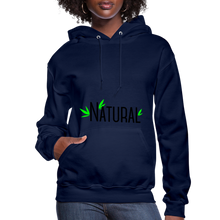 Load image into Gallery viewer, Natural Women's Hoodie - navy