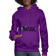Load image into Gallery viewer, Natural Women's Hoodie - purple