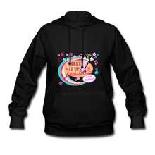 Load image into Gallery viewer, Shake It Up Women's Hoodie - black