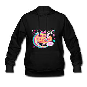 Shake It Up Women's Hoodie - black
