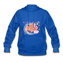 Load image into Gallery viewer, Shake It Up Women's Hoodie - royal blue