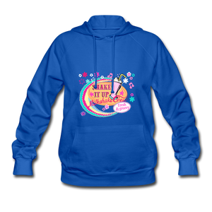 Shake It Up Women's Hoodie - royal blue