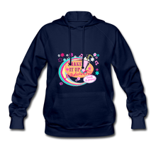 Load image into Gallery viewer, Shake It Up Women's Hoodie - navy