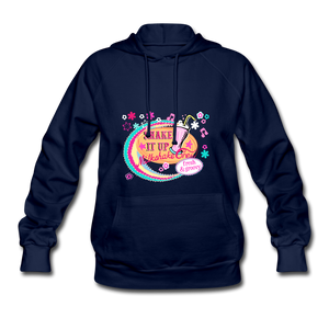 Shake It Up Women's Hoodie - navy