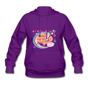 Shake It Up Women's Hoodie - purple
