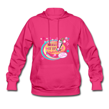 Load image into Gallery viewer, Shake It Up Women's Hoodie - fuchsia