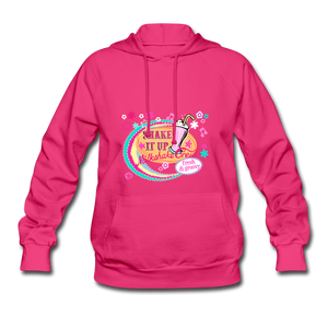Shake It Up Women's Hoodie - fuchsia