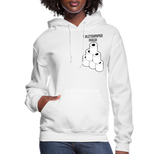 Load image into Gallery viewer, Toilet Paper Dealer Women's Hoodie - white