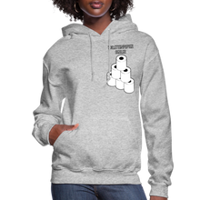 Load image into Gallery viewer, Toilet Paper Dealer Women's Hoodie - heather gray