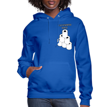 Load image into Gallery viewer, Toilet Paper Dealer Women's Hoodie - royal blue
