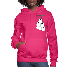 Load image into Gallery viewer, Toilet Paper Dealer Women's Hoodie - fuchsia