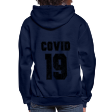 Load image into Gallery viewer, C-19 Women's Hoodie - navy