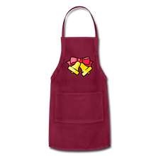 Load image into Gallery viewer, Bells Adjustable Apron - burgundy